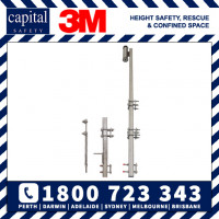 DBI Sala Lad-Saf Stainless Steel Bolt On Fixed Ladder System (LS-B-SS)