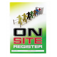 On Site Register Logbook - A4 Size (LB102)
