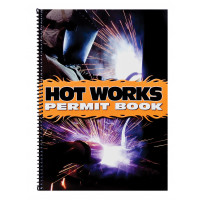 Hot Works Permit Logbook - A4 Size (LB104)