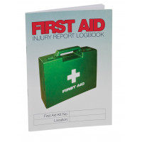 First Aid Injury Report Logbook - A5 Size (LB107)