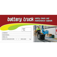 Log Book - Battery Truck Safety Check Logbook (LB118)