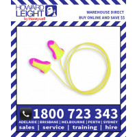 Laser Lite Single-Use Earplug SLC80 25 dB/Class 4 Corded-Pair