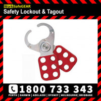 Lockout hasp 39mm Jaws Group Lockout Brady 133161 Red