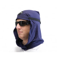 Uveto NAVY Le Work Hood Head Protection Sun Cap