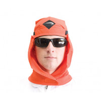 Uveto ORANGE Le Work Hood Head Protection Sun Cap