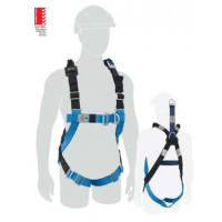 HoneyWell Miller Riggers Harness with Aluminium Hardware, Medium-Large (M1020181)