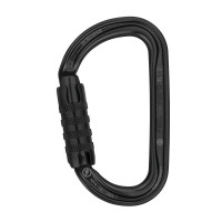 Petzl Tactical Black AM'D Triple-Lock Karabiner (M34ATLN)