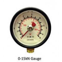 Hydrajaws Medium Duty Analogue Gauge 15kN (MDG015)