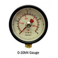 Hydrajaws Medium Duty Analogue Gauge 20kN (MDG020)