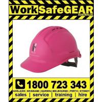 Mcgrath Foundation Vented Pink Hard Hat (20 Per Carton)