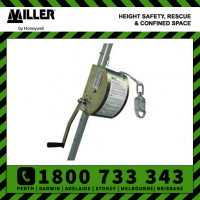Miller Manhandler Hoist Man-Rated Winch 18mtr Rated 159kg