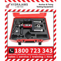 Hydrajaws Model 2000 SAFETY HARNESS EYEBOLT Export Tester Kit with Analogue Gauge (CS2000EBEXP)