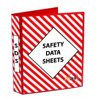 Safety Data Sheet Binder Red/White (MSDSB)