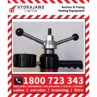 Hydrajaws Replacement turning handle with integrated nut and removable handles - 22mm  (RPLTH22)