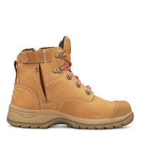 Oliver WOMEN'S WHEAT ZIP SIDED BOOT (49-432Z)