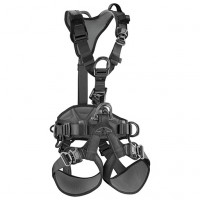 Petzl Astro Bod Fast International Version Size 0 (S/M) Black Tactical (C083BA03)