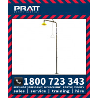 Pratt Free Standing Emergency Safety Shower (SE253)