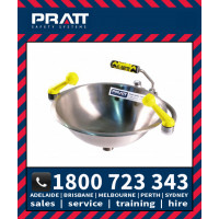 Pratt Wall Mounted Eye Wash Hand Operated (SE505)