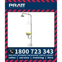 Pratt Safety Shower and Eye/Face Wash Station (SE607T316)