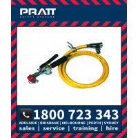 Pratt Wall Mounted Hand Held Drench Hose, Aerated Eye Wash 1.5m Hose (SE920)