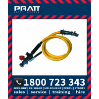 Pratt Bench Mounted Hand Held Drench Hose, Aerated Eye Wash 1.8m Hose (SE921)