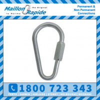 Maillon Rapide Pear Zincl 8mm WLL 450kg  BLL 2400kg