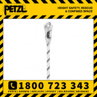 Petzl Axis Rope 11mm Low Stretch Kernmantle Rope With Sewn Termination (R074BA)