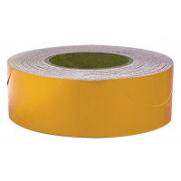 50mm x 45.7mtr - Class 2 Reflective Tape - Yellow (RT3Y)