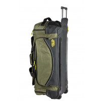 Rugged Xtremes LARGE Canvas Wheeled FIFO Transit Bag (RX05C131W)