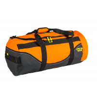 MEDIUM Rugged Xtremes Orange PVC Duffle Bag (RX05D118PVCOR)