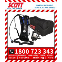 Scott Safety ACSM Compliance Set with Gas Mask & Cylinder