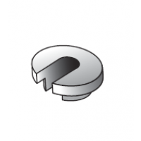 Hydrajaws Button adaptors slotted 12.5mm (SBA006)
