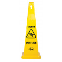 890mm Safety Cone - Caution Wet Floor (STC01)