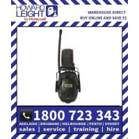 Sync Black Digital AM/FM Radio Earmuffs (1030330) Howard Leight