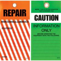 Tear Proof Tags - Pkt 25 - Repair Tags (TDT103)