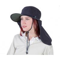 Uveto L-XL NAVY Tammin Broad Brim Sun Hat