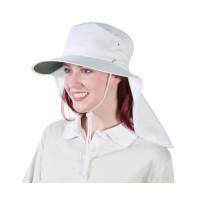 Uveto M-L WHITE Tammin Broad Brim Sun Hat