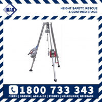 IKAR Confined Space Entry Rescue Tripod 2.42m DB-A2 Kit