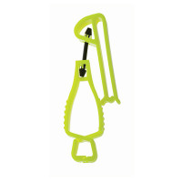 HiVis Lime Glove Guard Utility
