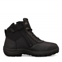 Oliver 140mm Black Zip Sided Boot (26-660)