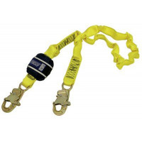 3M DBI SALA Force2 Shock Absorbing Lanyards Webbing Single Tail Elasticated 2.0m overall length