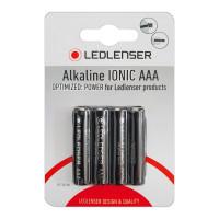 Ledlenser 4 x Ledlenser AAA Alkaline Ionic