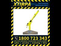 XTIRPA XT96 96 Permanent Adjustable Davit Arm Base System