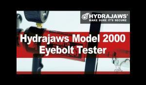 Hydrajaws Model 2000 Safety Harness Eye Bolt Tester