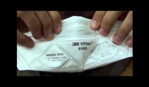 Fit - 3M™ VFlex™ Particulate Respirator