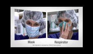Healthcare - Mask vs. Respirator Video