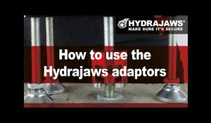 How to use the Hydrajaws adaptors