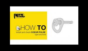 HOW TO install and check COEUR PULSE type anchor