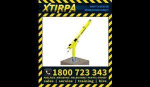 XTIRPA XT96 96 Permanent Adjustable Davit Arm Base System