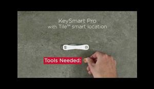 Assemble Your KeySmart Pro with Tile™ Location Tracking